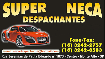 Super Neca Despachante Monte Alto SP